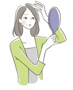 毛髪(女性)10